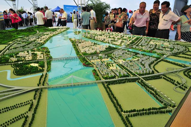 Futuro acelera em Nansha