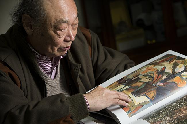 Mio Pang Fei e a arte que se respira