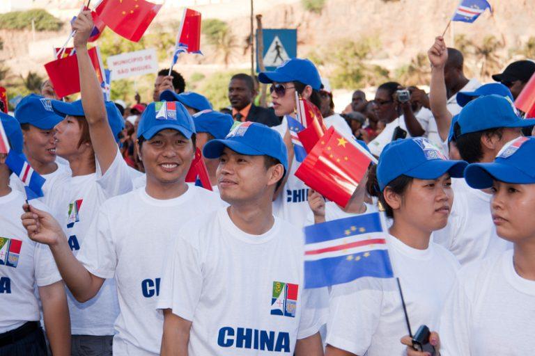 China e Cabo Verde juntos em Pequim