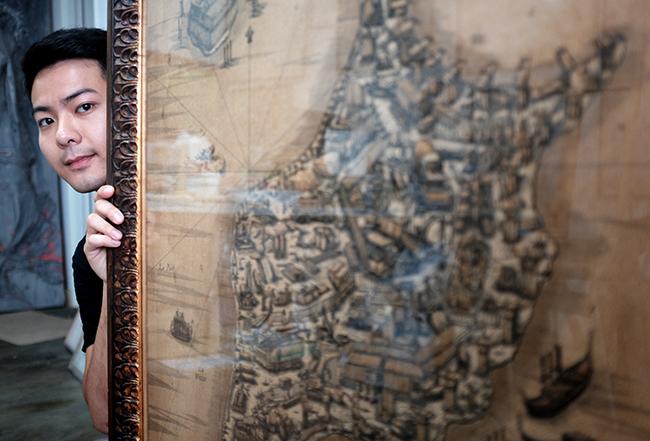 Como Eric Fok reinventou a cartografia
