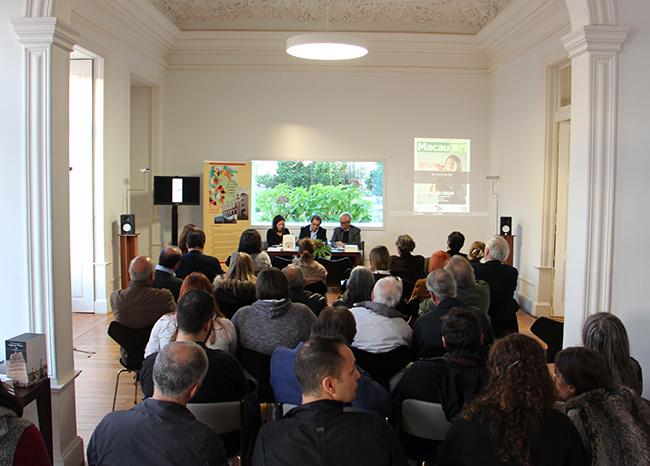 Literatura de Macau divulgada em Portugal