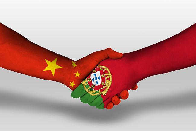 Investimento chinês em Portugal em alta