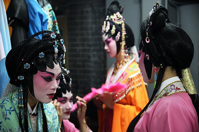 A ópera e as festividades chinesas